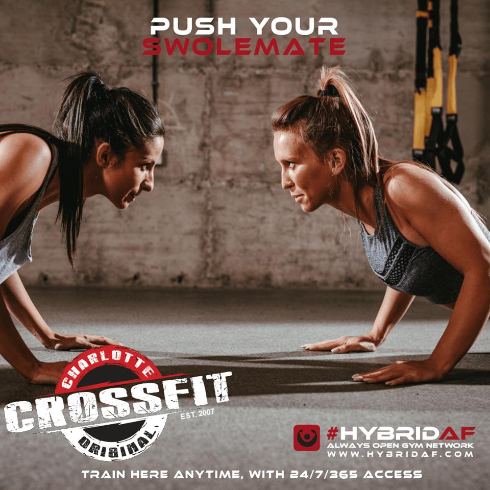 Hybrid AF 24/7 All Access - Crossfit Charlotte