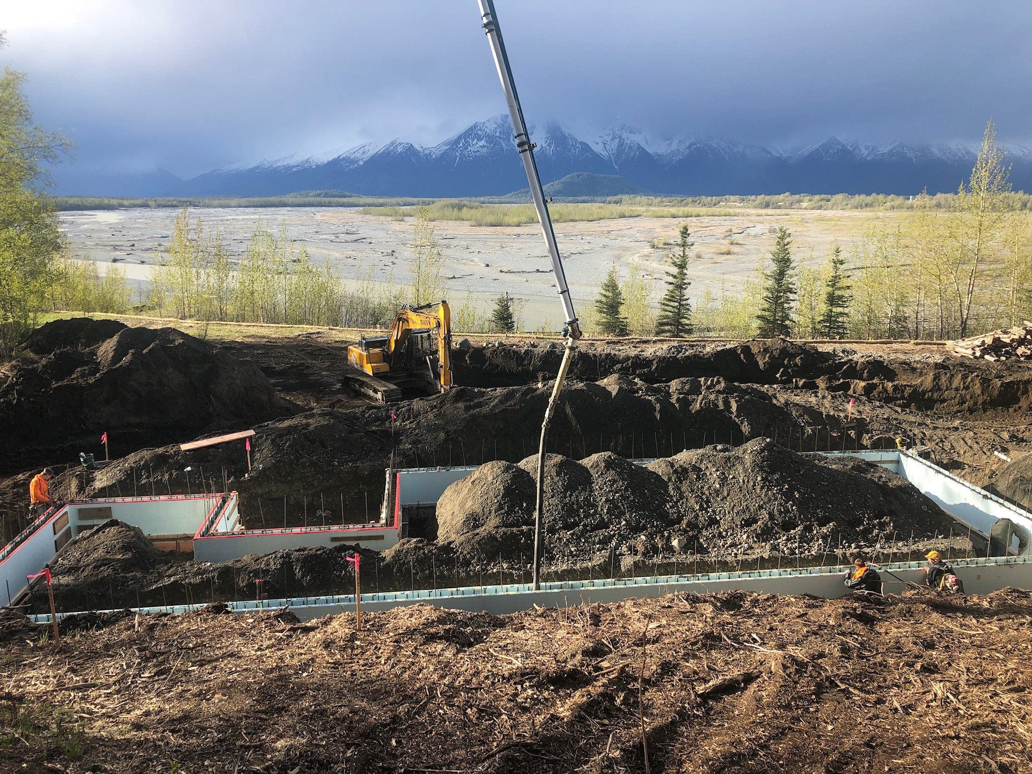 Civil Construction & Mobile Concrete Services at Remote Alaska Solutions