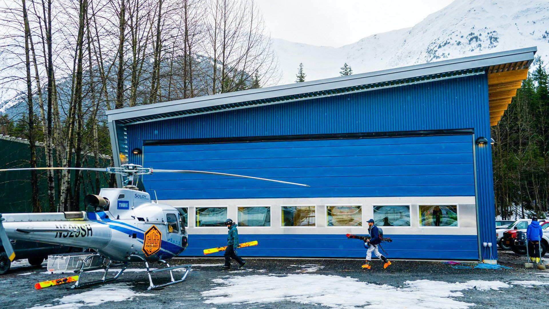 Commercial ICF & Hangars at Remote Alaska Solutions
